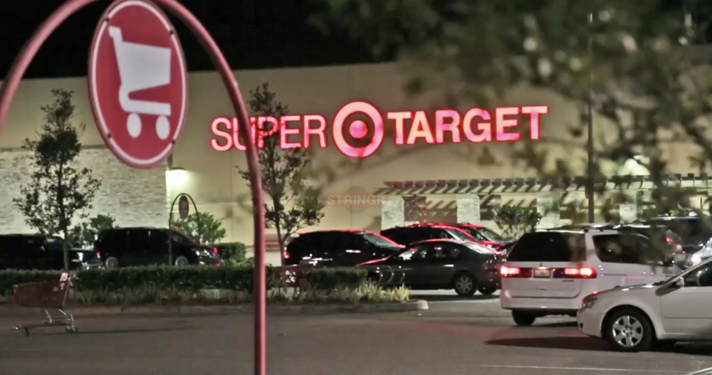 Still of a shot of Jeob's Target footage.
